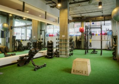 Functional Turf Training at Rival Fitness Gym in Capitol Hill neighborhood of Seattle
