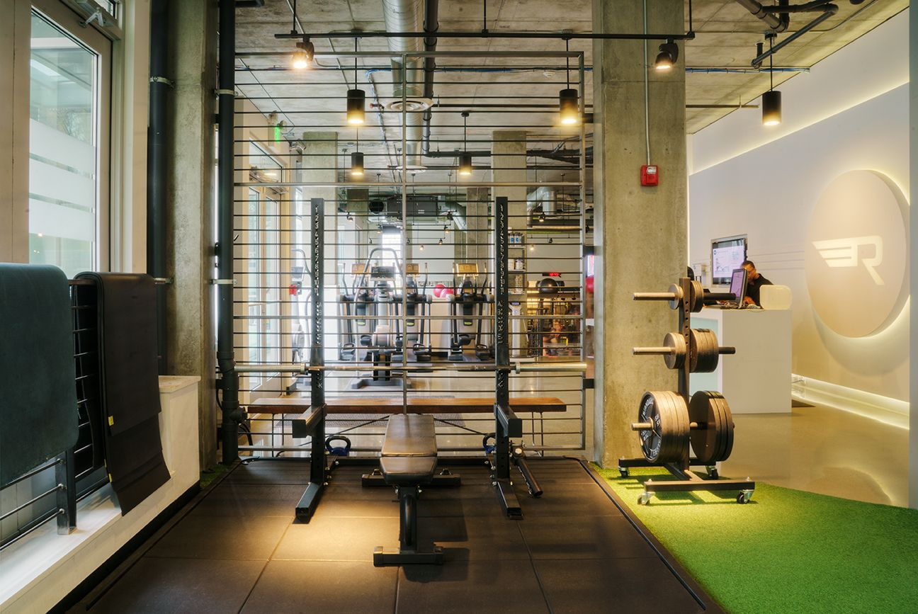 Strength Squad training area at Rival Fitness Gym in Capitol Hill neighborhood of Seattle